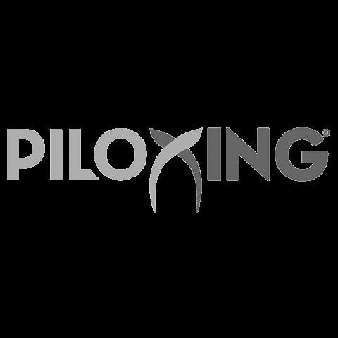 Logo Piloxing, black & white
