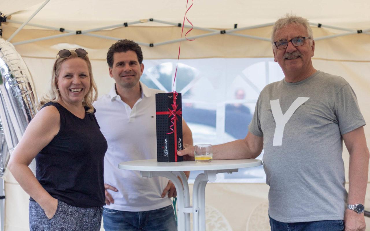 Sommerfest 2019, Jürgen und das Team von METRA