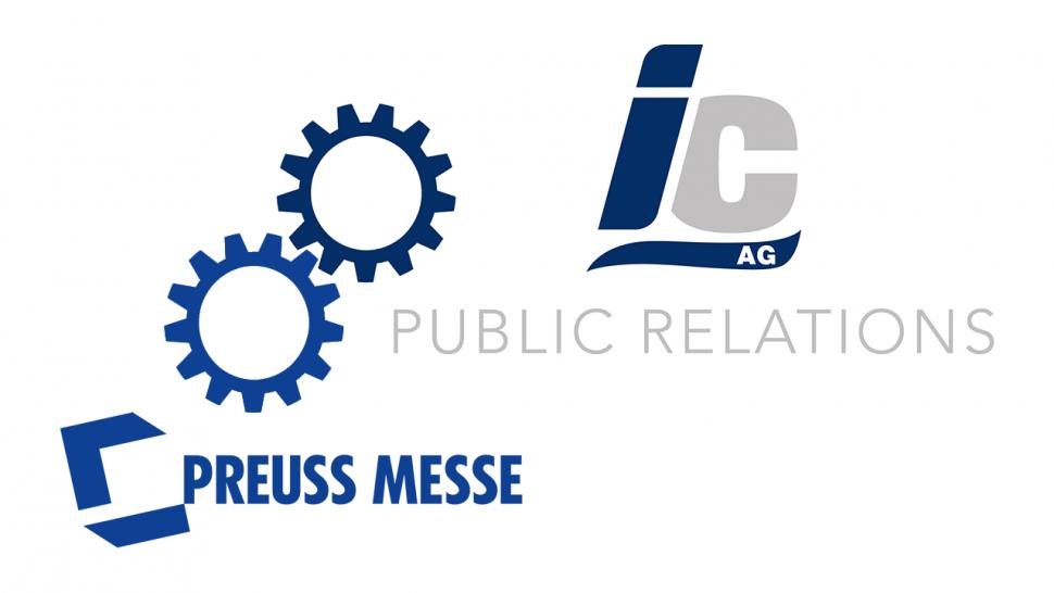 IC + Preuss Messe = Live PR cooperation