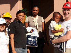 PRGN Members Build House in Cape Town Township for Impoverished Family