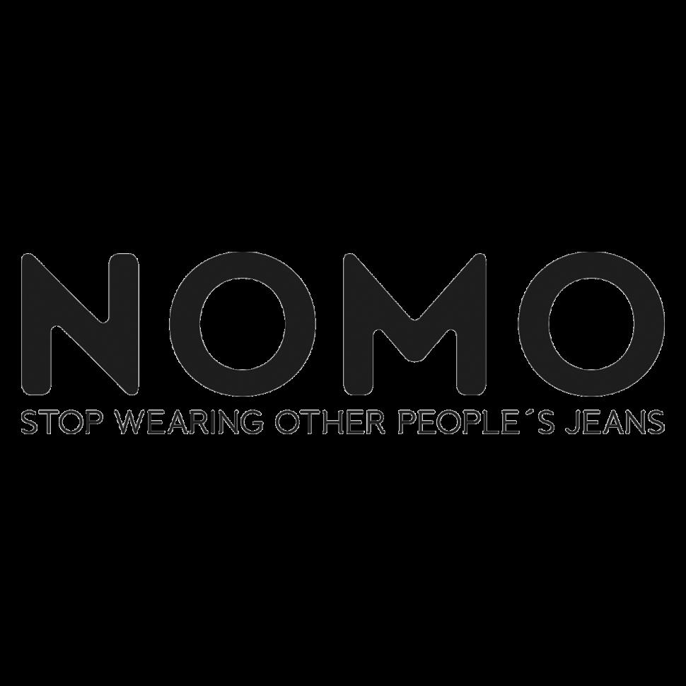 Logo NOMO, black & white