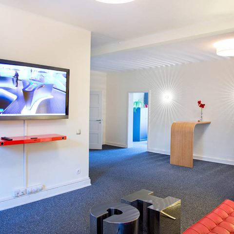 Eingangsbereich PR-Agentur Hamburg
