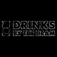 Logo Drinks by the Dram, black & white