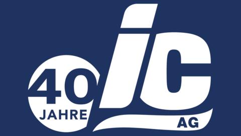 IC Public Relations Logo 40 Years