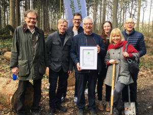 #IC40YEARS – Industrie-Contact donates 40 trees to the foundation Unternehmen Wald
