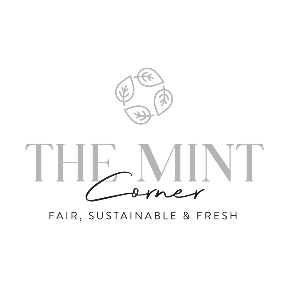 Logo The Mint Corner, black & white