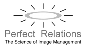 Logo Perfect Relations, black & white
