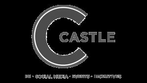 Logo The Castle Group, black & white