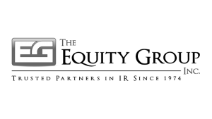 Logo The Equity Group, black & white