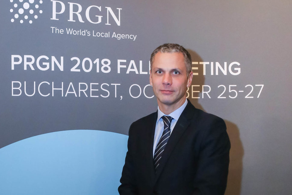 PRGN Executive Director Gábor Jelinek